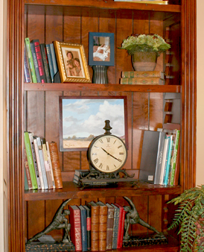 Accessorized Bookcase