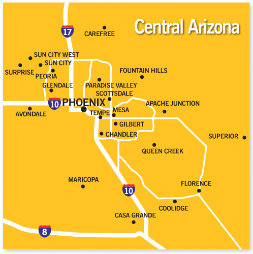 Community And City Info For Central Arizona Long Realty
