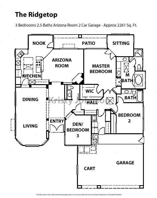 Sun City Floor Plans – Continental Homes Floor Plans Arizona